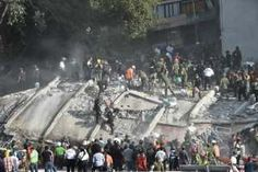 Aftermath Of Mexico Quake In Pictures
