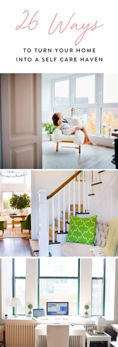26 Ways to Turn Your Home into a Self-Care Haven   via @PureWow