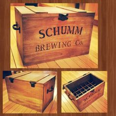 Personalized beer crate I made and wood burned for a friend's 30th birthday.