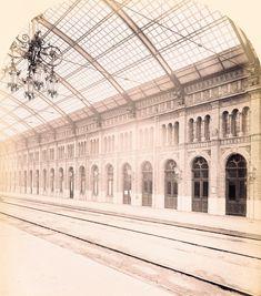 1871 Berlin, Potsdamer Bahnhof, Perronhalle Berlin, Potsdamer Platz, Louvre, Building, Buildings, Construction