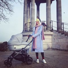 PROUD MAMA on our first Stroll outside!Climbing all the way up to the highest point of the Buttes- Chaumont, our favourite park,has been easy like a sunday Morning...Wanna know why ? Go check out My interview on the new  @voguebambini issue about Testing the @pegperego_official brand new  Jewel 🚀🚀🚀#mumsLife#VitasTales#myEasygoing#viguebambini#pegperego#vivaItalia#stroller