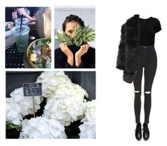 """""""Bored 🔚"""" by mash-step ❤ liked on Polyvore featuring Topshop and even&odd"""