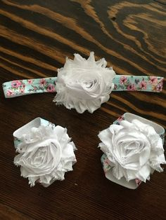 Floral Headband Barefoot Sandals by GirlieBlingByJess on Etsy