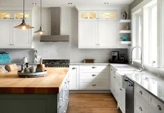 Custom Kitchen by South Shore Cabinetry, Vancouver Island, BC #kitchen #customcabinetry #interior design