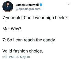 High Heels James Breakwell Xploding Unicorn