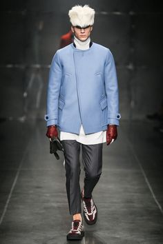 Andrea Pompilio | Fall 2014 Menswear Collection | Style.com