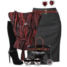 """RedBlueNile"" by hollyhalverson on Polyvore"