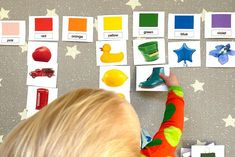 #Montessori Printables for a Two Year Old - What's On Our Shelves