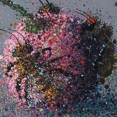 Cherry-bomb-bees-Artist-Michael-Glass-detail