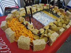 Football Food Stadiums | Capcy