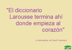 David Foenkinos, lo que no explica el diccionario lo explica el corazón
