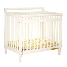 Cribs & Crib Kits The Athena Mini Amy Crib is made of solid hardwood and is beautiful and durable. It is ideal for the space conscious family and also can convert to a Twin Bed as your child grows. 2-inch pad is included. Ships ready for an easy assembly. - http://babyroomideas.co/mini-amy-crib-by-afg-baby-furniture-2/