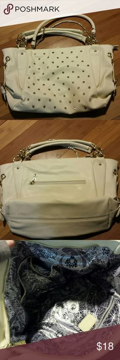 Studded Tote Purse Cute and nearly new handbag by imoshion. In amazing condition! Imoshion Bags Totes
