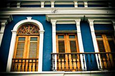 San Juan, Puerto Rico (The color of that building...breathtaking!)