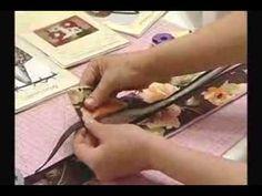 Arte e Manhas da Tia Lili: bolsa e colocação de zíper - YouTube