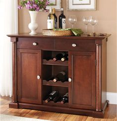 Mini bar..Love the idea of a mini bar!