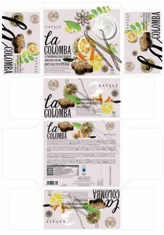 Studio packaging colomba