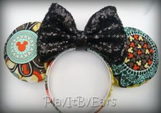 "Love My Vera ""Perfect Petals"" Handmade Custom Mouse Ears inspired by Disney"