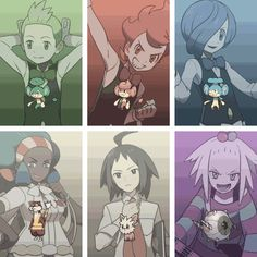 Gym leaders (7)