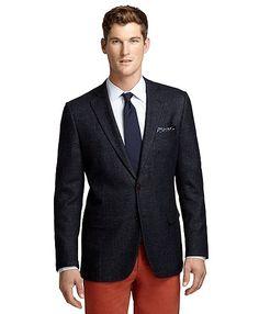 Fitzgerald Fit Denim, Wool and Silk Sport Coat