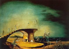 Salvador Dali – The Broken Bridge of the Dream