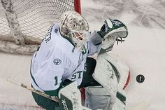 Michael Bitzer posted a pair of shutouts to lead the BSU men's hockey team to a WCHA series sweep, while extending the team's unbeaten streak to 7 (1/9-10/15). CHeck out the entire gallery: http://www.bsubeavers.com/mhockey/photos/2014-15/591/