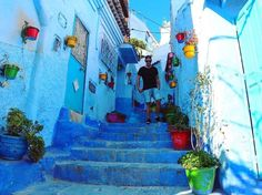Chefchaouen is a small village located in the Rif Mountains in northern Morocco.