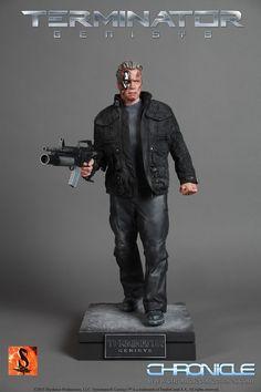 Terminator Genisys 1:4 Scale Guardian Statue