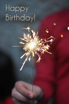 Birthday Quotes : happy birthday wish sparkle Best Birthday Wishes, Happy Birthday Quotes, Birthday Greetings, It's Your Birthday, July Birthday, Birthday Cards, Happy B Day, Happy New Year, Happy Eid