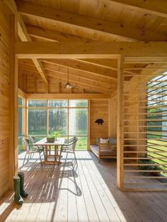 Inspiring Home of the Week: An eco-friendly hideaway in a forest clearing in Maine
