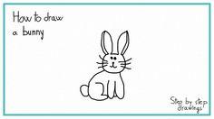 How to draw a bunny in 7 steps #bunny #rabit #draw #drawing #stepbystep