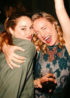 Shai and Brie Larson