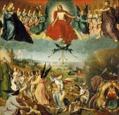 Jan Provost The Last Judgment c. 1525