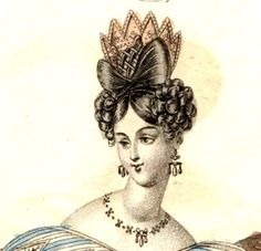 Illustration from The World of Fashion 1832
