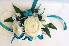 Wrist corsage with Ranunculus