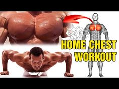 13 BÀI TẬP NGỰC NHANH TO TẠI NHÀ - YouTube Dumbbell Chest Workout, Chest Workout For Men, Chest Workout Routine, Chest Workouts, Dumbbell Workout, Push Up Workout, Gym Workout Videos, Gym Workouts, At Home Workouts