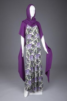 Ensemble by Elsa Schiaparelli, 1930s, via The Goldstein Museum of Design.