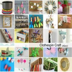Clothespin Craft Ideas | theidearoom.net