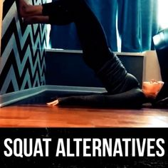 #repost You all found this guy super helpful last time so while I get fitted for my wedding dress, I'll leave you with these squat alternatives  ..great for bad knees/backs! Squat Alternative, Tummy Workout, Baby Workout, Leg Workout At Home, Amanda Miller, Stay Fit, Wall Squat, Health Motivation, Fit Girl Motivation