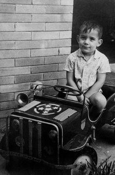Ayrton Senna 7 years old