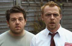 Simon Pegg & Nick Frost in Shaun of the Dead