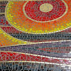 Bright Sun Mosaic