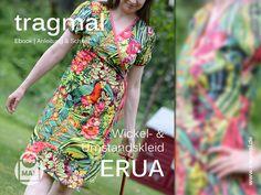 Nähanleitungen Mode - Ebook Wickelkleid Kleid auch Umstandskleid ERUA - ein Designerstück von tragmal-Stoff bei DaWanda
