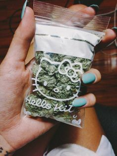 Hello Kitty baggie of weed :)