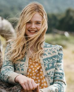 "Elle fanning as Lilly in ""We Bought a Zoo""--probably my favorite movie character ever :)"