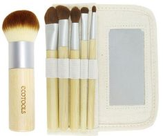 Eco-Tools Brushes http://www.onegreenplanet.org/lifestyle/10-safe-soft-and-cruelty-free-make-up-brushes/4/