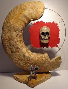 Ammonit Franken Jura Malm Ehrenwache der Gray Death Legion Battletech