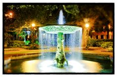 Columbia Square; #Savannah, #Georgia wedding #venue
