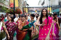 Calgary wedding photographers: A combination Hindu Wedding and church wedding with a reception at Hyatt Regency in downtown Calgary. Indian Wedding Photography, Church Wedding, Indian Weddings, Calgary, Regency, Sari, Fashion, Saree, Moda