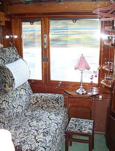 Private compartment on the Orient Express - Venice to Paris